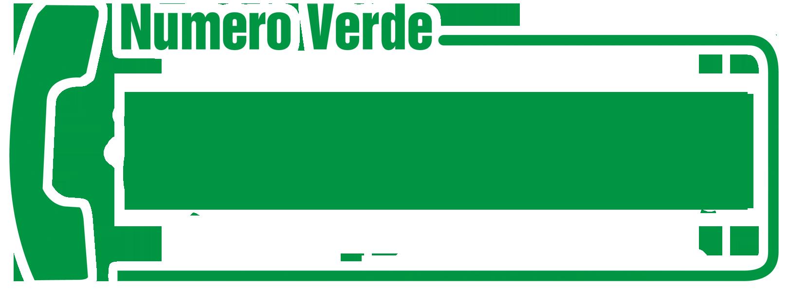 Numero Verde 800-151721